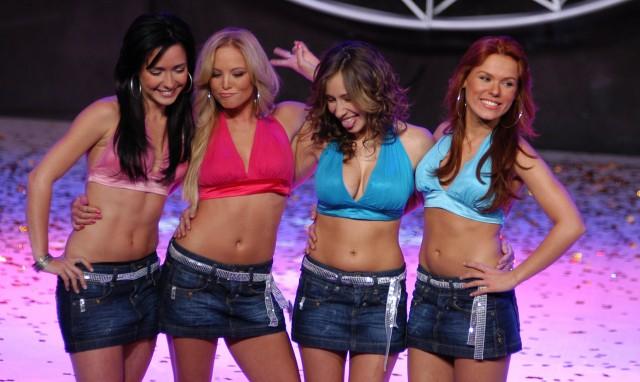 Las nuevas muchachitas son: Ariadne Díaz , Begoña Narvaez , Gabriela ...