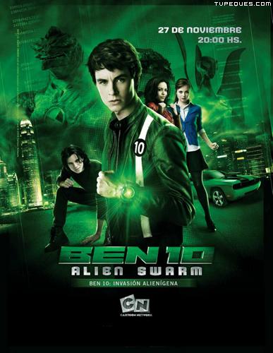Ben 10 Fuerza Alienigena : La pelicula online y gratis
