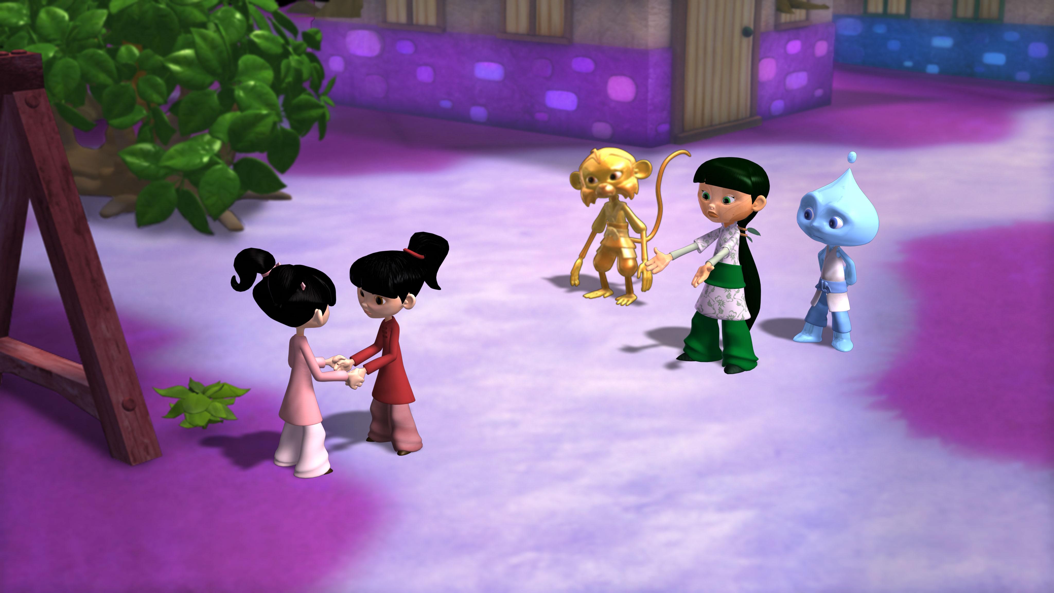 Cartoon Network festeja el Día de la Tierra y estrena la serie Master Raindrop