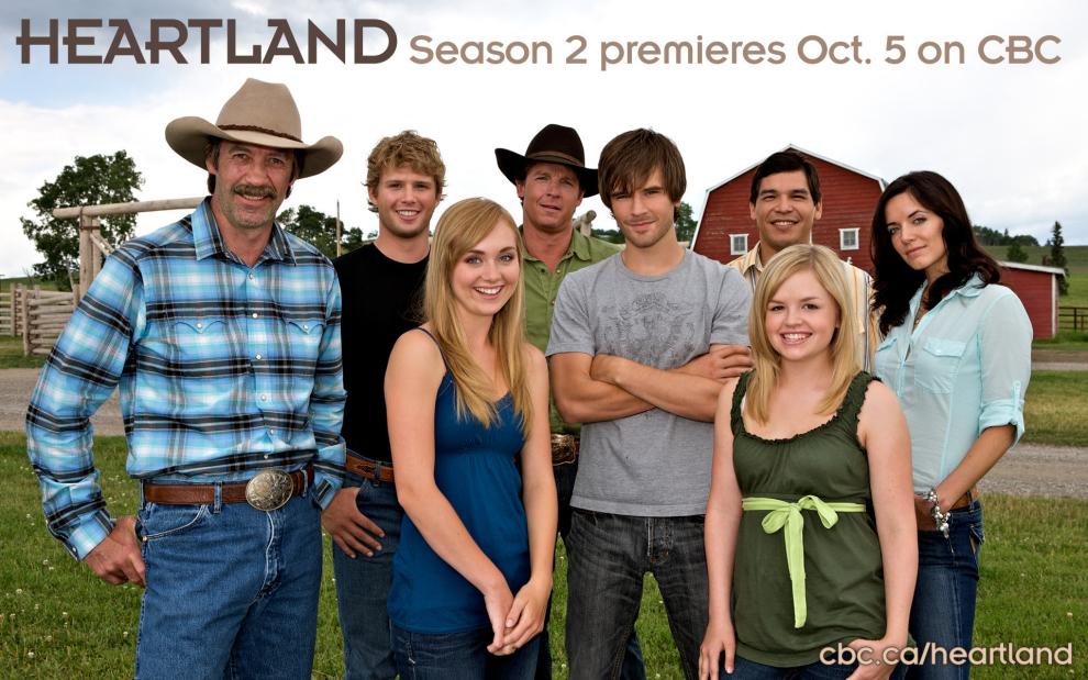 Heartland: Elenco de la segunda temporada