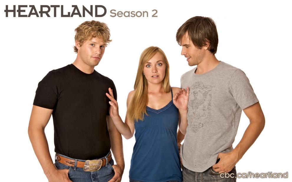 Heartland: Caleb, Amy, Ty: El triangulo amoroso de la serie