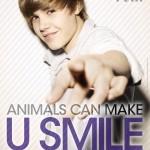 Justin Bieber participa en campaña de PETA