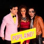 Fotos de la grabación del videoclip Click (Popland), hoy gran estreno
