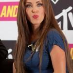 Fotos de Anahí en la presentación de la telenovela Popland