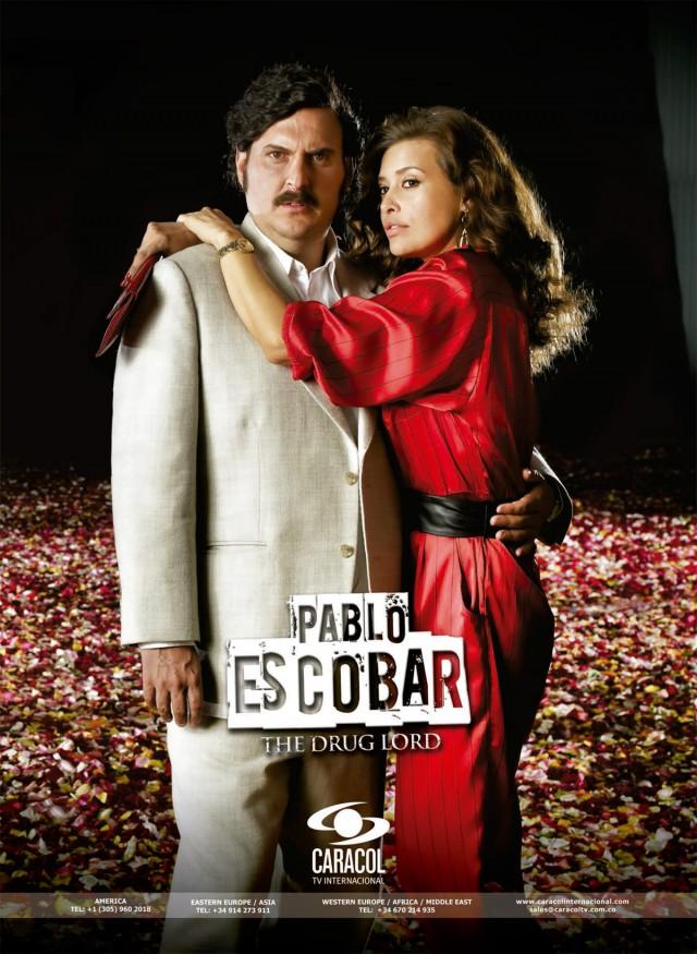 Poster serie Pablo Escobar, el patrón del mal