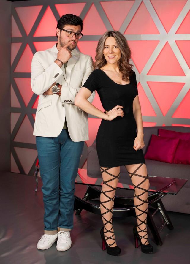 Paul Stanley y Silvia Olmedo Amor-didas