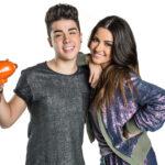 Maite Perroni y Mario Bautista anfitriones de los Kids Choice Awards México 2015