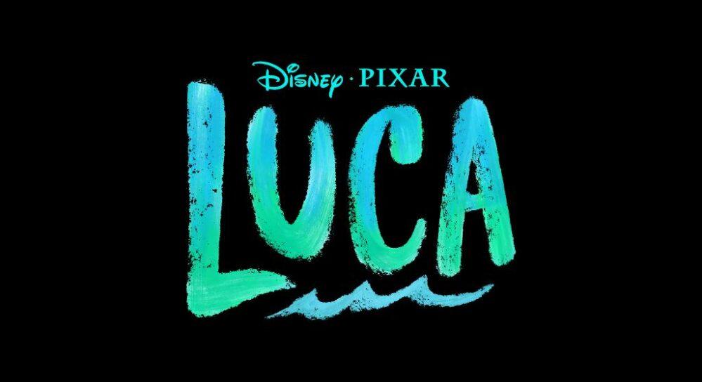 logo pelicula luca pixar