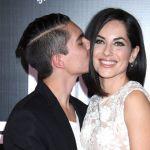 Bárbara Mori y su hijo en Got Milk