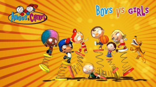 Angus&Cheryl por Nickelodeon