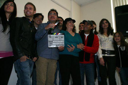 Inicia la filmación de la película Amar