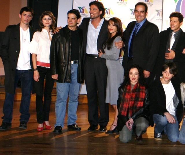 elenco telenovela vivir asi