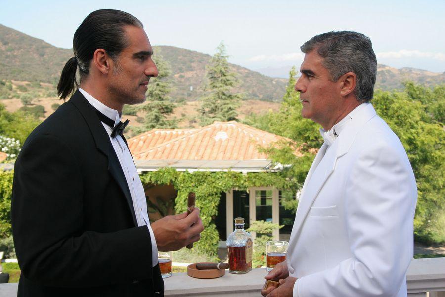 Miguel Varoni y Saul Lisazo