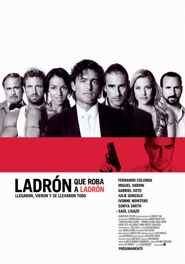 Poster de Ladron que roba a ladron