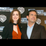 Steve Carell y Anne Hathaway en México