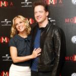Brendan Fraser y Maria Bello en México