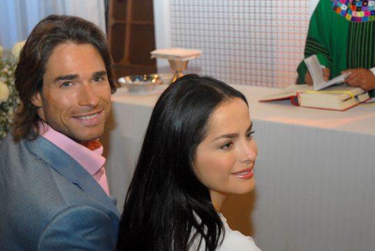 Sebastian Rulli y Danna Garcia