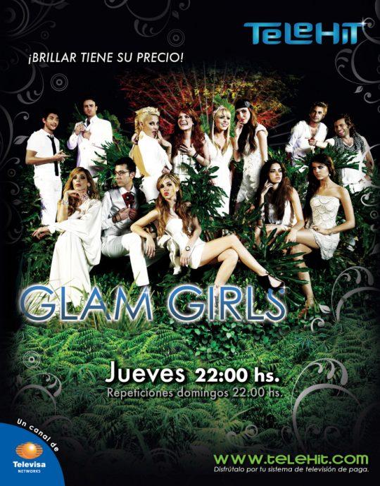 Poster serie Glam Girls