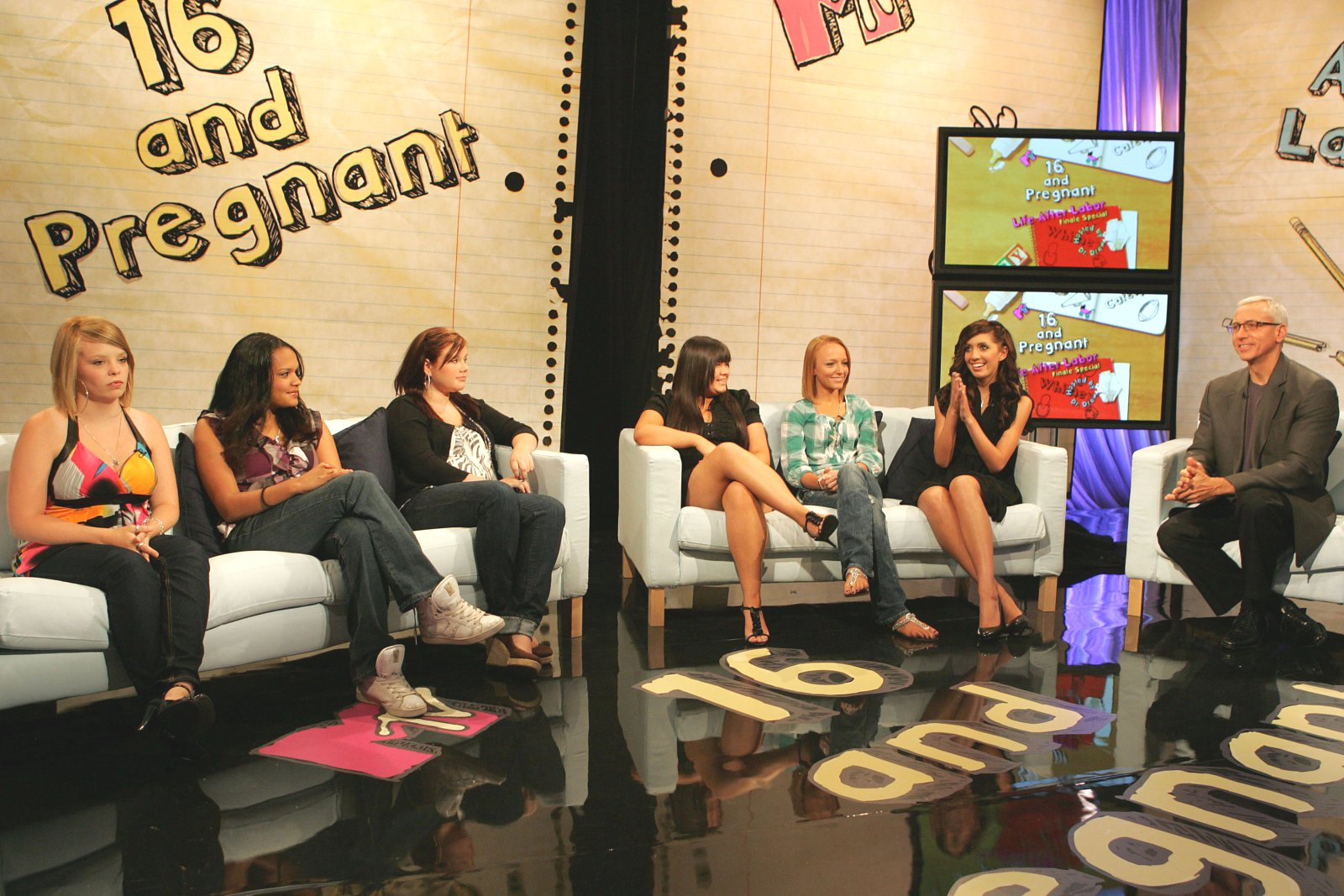 MTV transmite la serie 16 y Embarazada