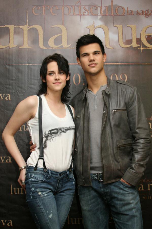 Kristen Stewart y Taylor Lautner