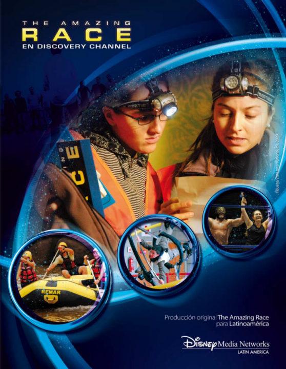 Poster The Amazing Race Latinoamérica