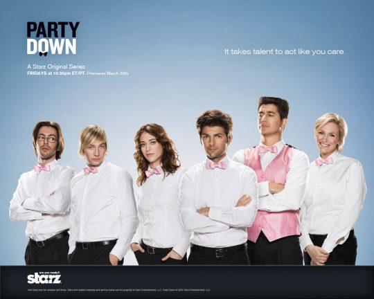 I.Sat estrena las series Party Down, Beautiful People y Z Rock