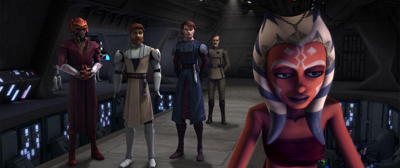 Posters de la segunda temporada de Star Wars: The Clone Wars en Cartoon Network
