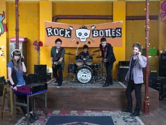 La música de la banda Rock Bones (Peter Punk)