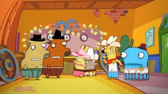 Personajes de la serie Animales en calzones