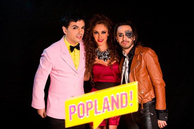 Anahí con participación especial en la telenovela Popland