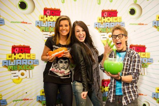 Nickelodeon y Televisa coproducen los Kids Choice Awards México 2011