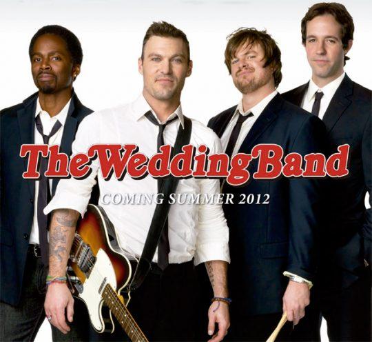 Foto del elenco de The Wedding Band
