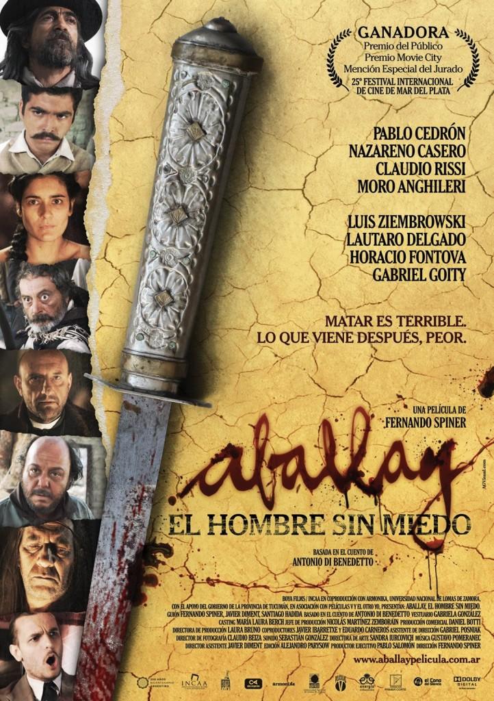 Poster película argentina Aballay, el hombre sin miedo