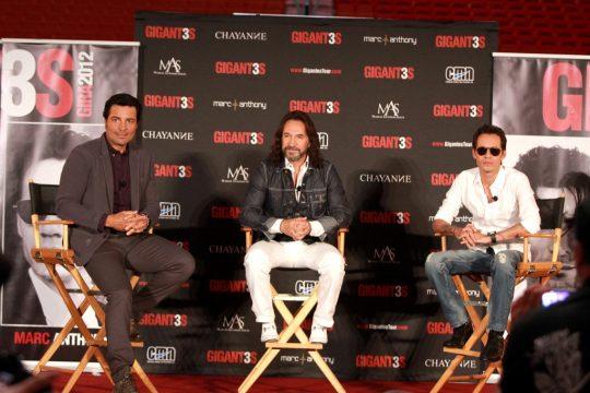 Showbiz de CNN en Español presenta: Marco Antonio Solis, Chayanne y Marc Anthony