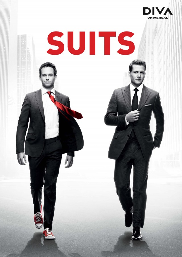 serie suits poster