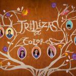 cartel trillizas de colores