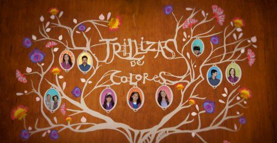 Trillizas de colores, serie de estreno en Once TV