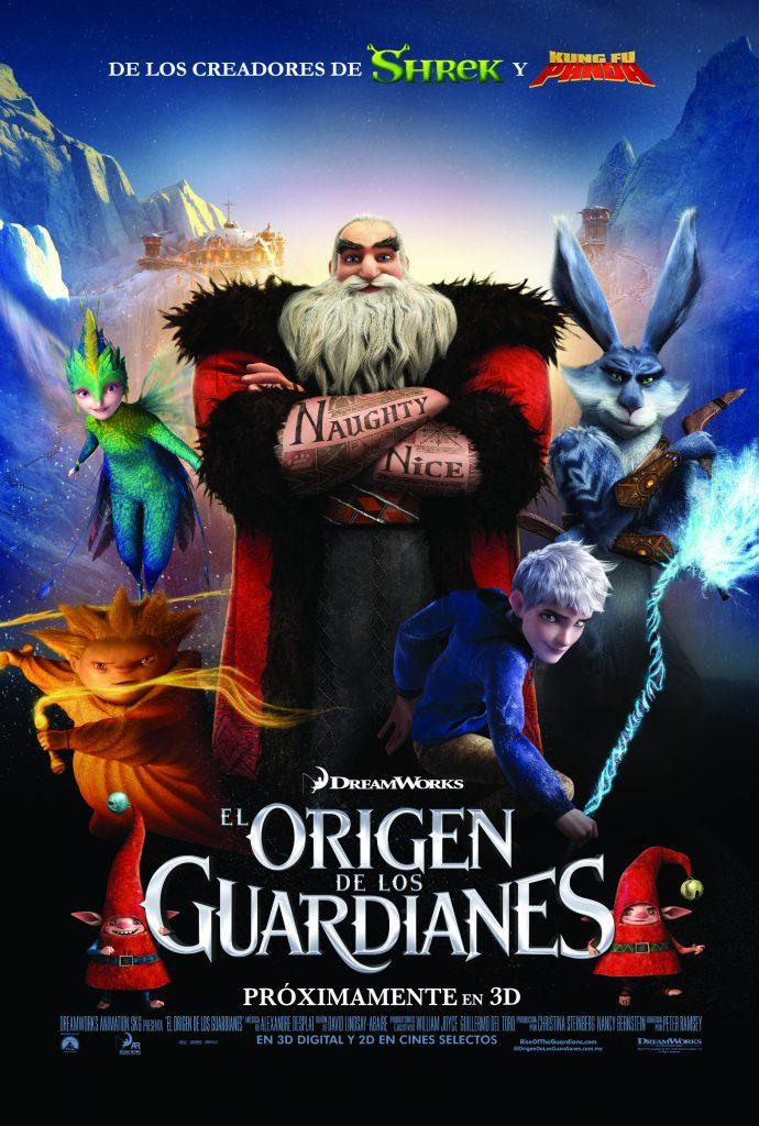 poster el origen de los guardianes