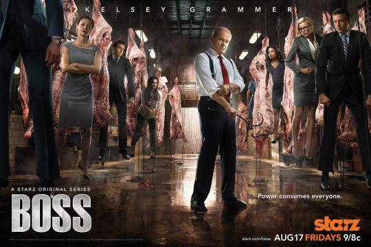 Segunda temporada de la serie Boss
