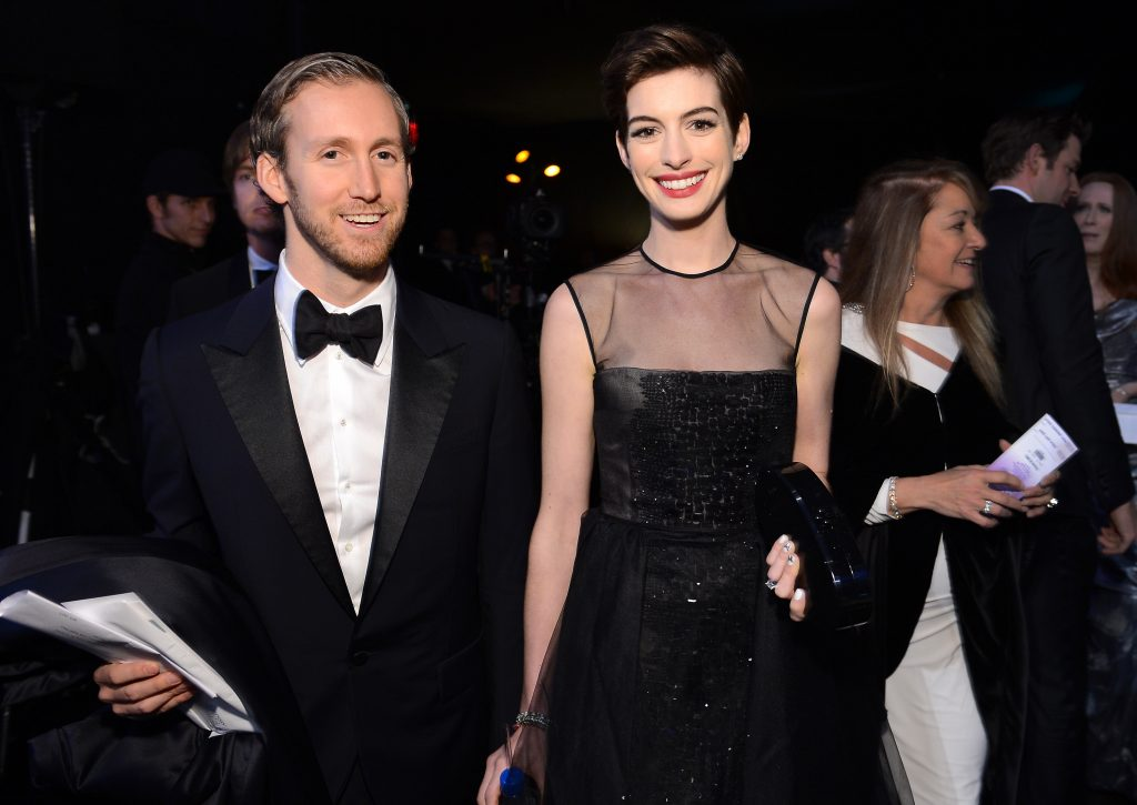 Adam Shulman and Anne Hathaway