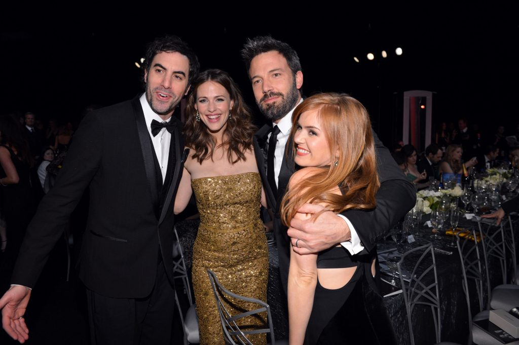 Sacha Baron Cohen, Jennifer Garner, Ben Affleck and Isla Fisher