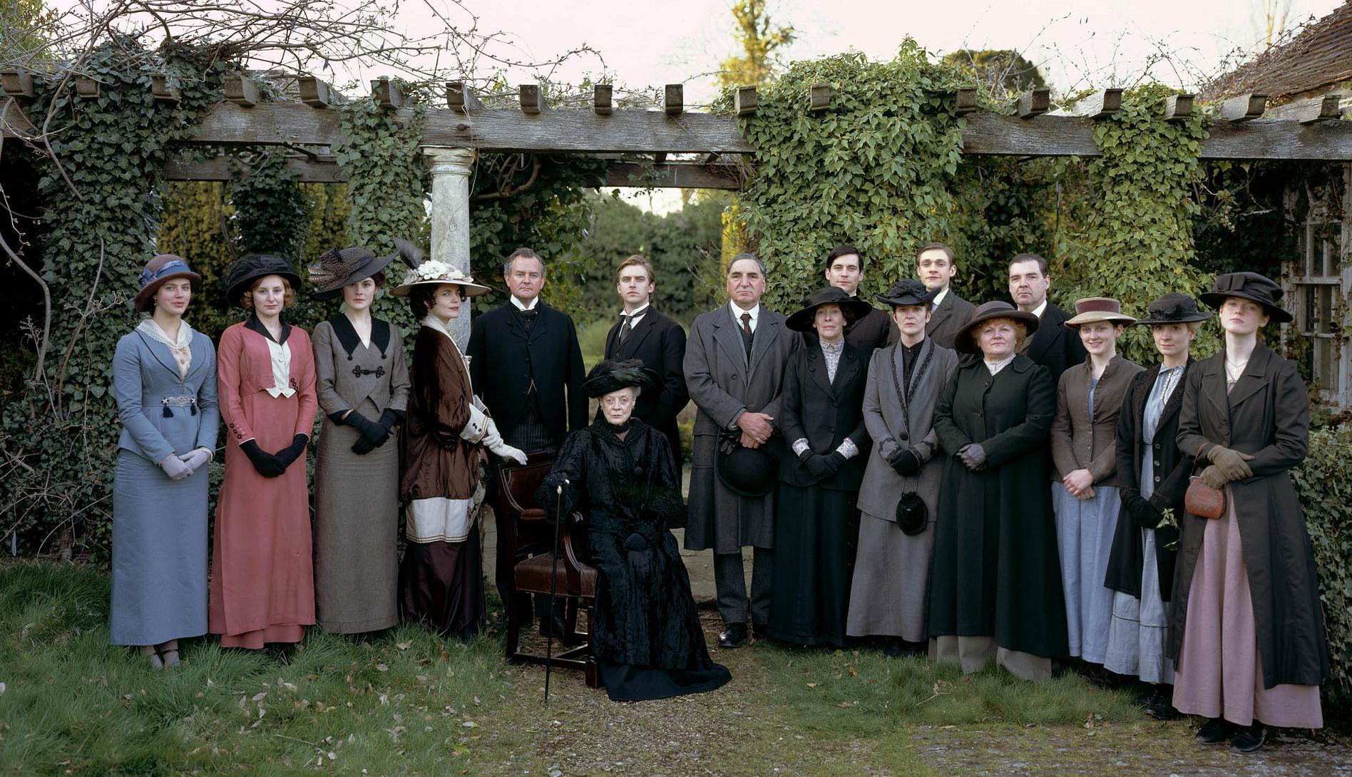 Once TV estrena la segunda temporada de Downton Abbey