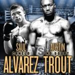 Este sábado 20 de abril Saúl Álvarez vs. Austin Trout en Combate Space