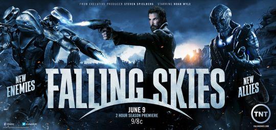 En agosto TNT presenta el final de la tercera temporada de Falling Skies
