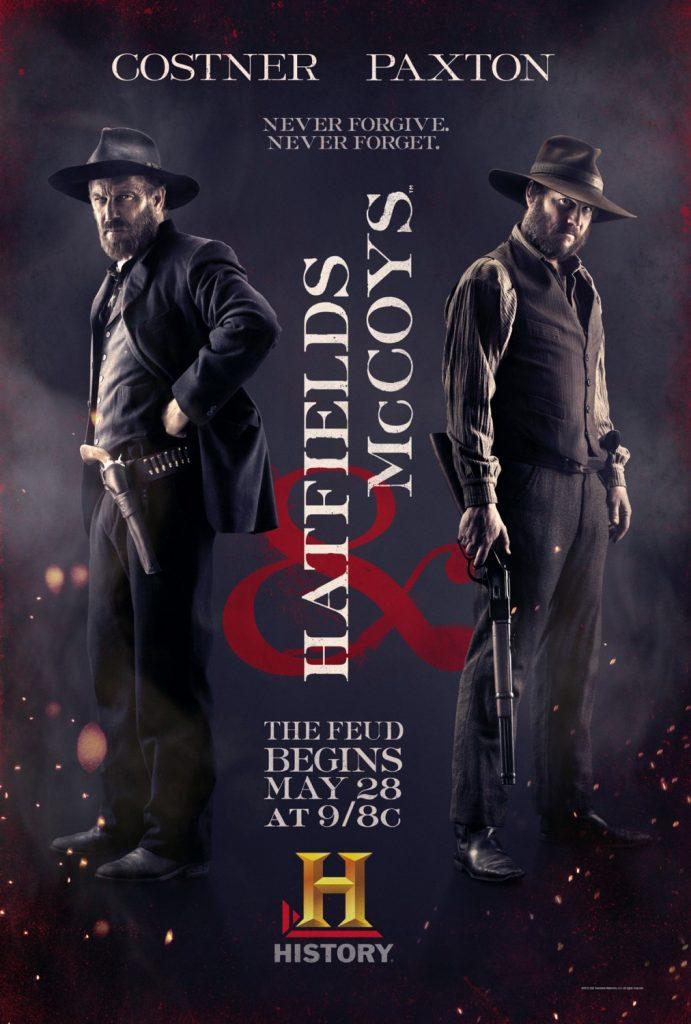 Poster miniserie Hatfields & McCoys