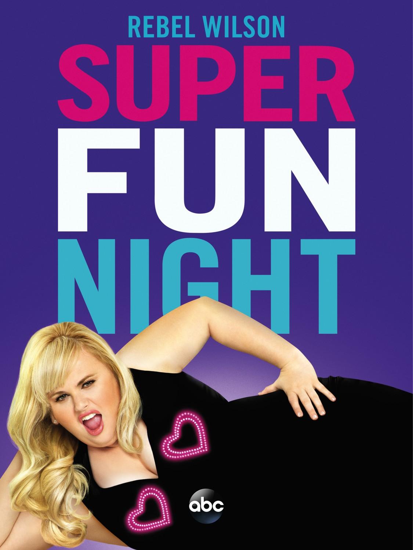 Poster serie Super Fun Night
