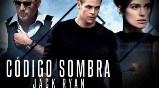 """Nuevo póster en español """"Código Sombra Jack Ryan"""""""