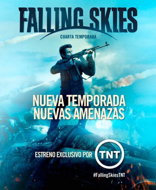 TNT estrena cuarta temporada de Falling Skies en junio ...