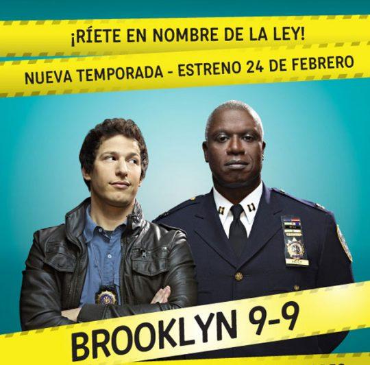 TBS veryfunny estrena segunda temporada de Brooklyn Nine Nine