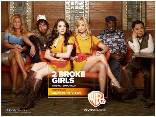 Estreno cuarta temporada 2 Broke Girls